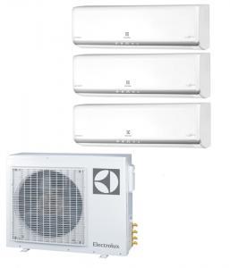 Мульти сплит система на 3 комнаты Electrolux EACO/I-24 FMI-3/N3_ERP / EACS/I-09HM FMI/N3_ERP - 3 шт.