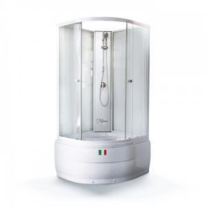Душевая кабина Maroni Arezzo WLRF-024S(WDRF) 90х90 прозрачное стекло