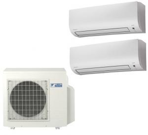 Мульти сплит система на 2 комнаты Daikin 2MXS50H /FTXM25N 2шт
