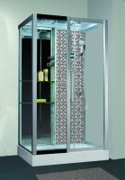 Душевая кабина Niagara Lux 7713W L с гидромассажем Серебро