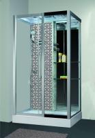 Душевая кабина Niagara Lux 7713W R с гидромассажем Серебро