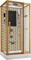 Душевая кабина Niagara Lux 7714G с гидромассажем Золото