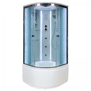 Душевая кабина Deto ЕМ4580 с LED подсветкой и гидромассажем