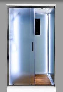 Душевая кабина Deto D119S LED 110х90 c LED подсветкой