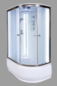 Душевая кабина Deto D120S LED L 120х80 c LED подсветкой левая