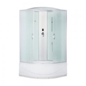 ДушеваякабинаErlitComfort ER3510TP-C3100х100 матовое стекло