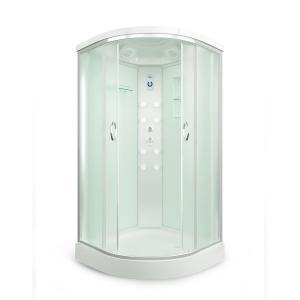 Душевая кабина Erlit Comfort ER4510P-C3 100х100 с гидромассажем матовое стекло