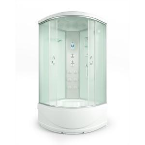 Душевая кабина Erlit Comfort ER4510TP-C3-RUS 100х100 с гидромассажем матовое стекло