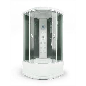 Душевая кабина Erlit Comfort ER4510TP-C4 100х100 с гидромассажем тонированное стекло