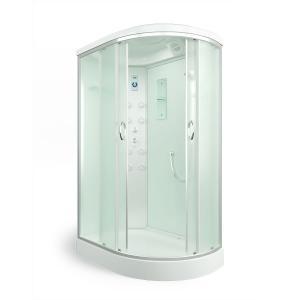 Душевая кабина Erlit Comfort ER4512PL-C3 120х80 с гидромассажем матовое стекло