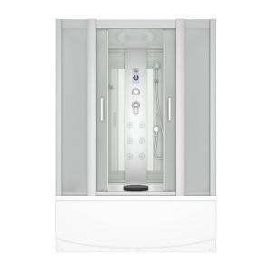 Душевой бокс Erlit Comfort ER4517TP-C3 168х80 с гидромассажем матовое стекло