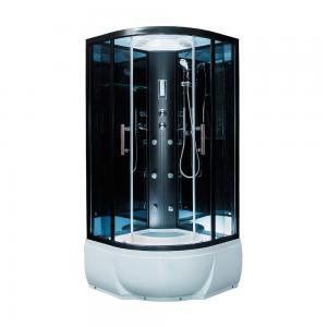 ДушеваякабинаErlit EclipseER5709TP-C2490х90 с гидромассажем тонированное стекло