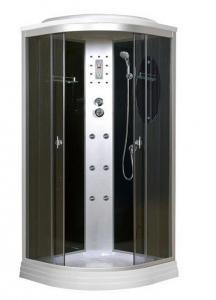 Душевая кабина Niagara Premium NG-5012-01 120х120 с гидромассажем профиль серебро тонированное стекло