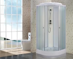 Душевая кабина Niagara Eco NG-5301-14 90х90 профиль белый матовое стекло