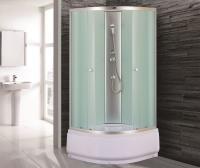 Душевая кабина Niagara Eco NG-7308-08ВК 90х90 профиль серебро матовое стекло
