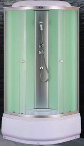 Душевая кабина Niagara Eco NG-7308-08 90х90 профиль серебро матовое стекло