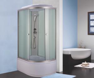 Душевая кабина Niagara Eco NG-7310-14L 120х80 профиль серебро матовое стекло левая
