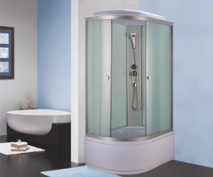 Душевая кабина Niagara Eco NG-7310-14R 120х80 профиль серебро матовое стекло правая