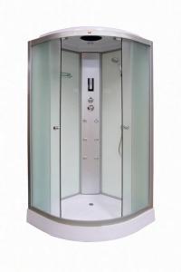 Душевая кабина Parly Bianco B101 100х100 матовое стекло