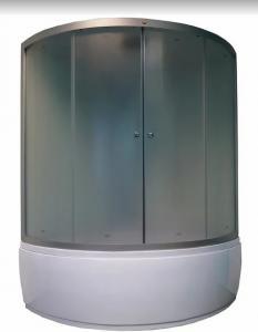 Душевой бокс Parly Bianco B135 135х135 матовое стекло