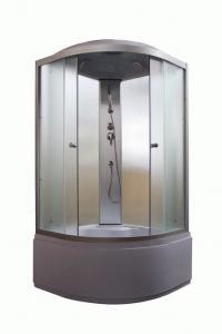 Душевая кабина Parly Tomorrow ET80 80х80 жемчужное стекло