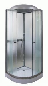 Душевая кабина Parly Tomorrow ET81 80х80 жемчужное стекло