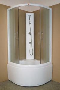 Душевая кабина Parly Tomorrow TM901 85х85 жемчужное стекло
