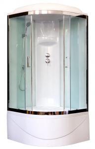 Душевая кабина Royal Bath RB100BK6-WT-CH 100х100