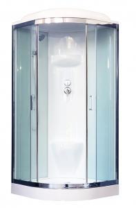 Душевая кабина Royal Bath RB100HK6-WT-CH 100х100