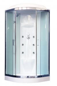 Душевая кабина Royal Bath RB100HK7-WT-CH 100х100 с гидромассажем