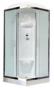 Душевая кабина Royal Bath RB80HP6-WC-CH 80х80 рифленое матовое стекло