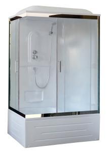 Душевая кабина Royal Bath RB8100BP1-M-CH-R 100х80 рифленое стекло правая