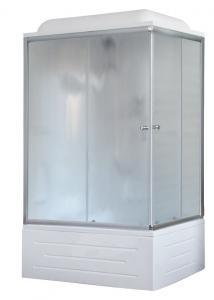 Душевая кабина Royal Bath RB8100BP1-M-L 100х80 рифленое стекло левая