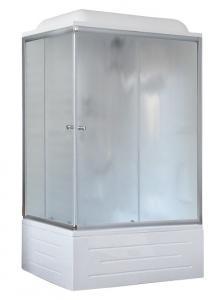Душевая кабина Royal Bath RB8100BP1-M-R 100х80 рифленое стекло правая