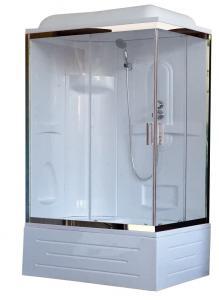 Душевая кабина Royal Bath RB8100BP1-T-CH-L 100х80 левая