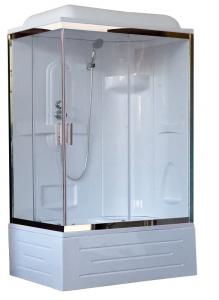 Душевая кабина Royal Bath RB8100BP1-T-CH-R 100х80 правая