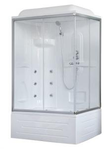 Душевая кабина Royal Bath RB8100BP2-T-L 100х80 с гидромассажем левая