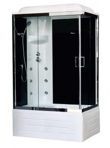 Душевая кабина Royal Bath RB8100BP3-BT-CH-L 100х80 с гидромассажем левая
