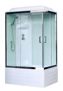 Душевая кабина Royal Bath RB8100BP6-WT-CH-L 100х80 левая