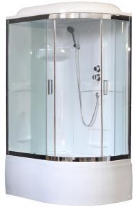 Душевая кабина Royal Bath RB8120BK1-T-CH-L 120х80 левая