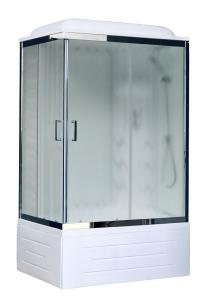 Душевая кабина Royal Bath RB8120BP3-WC-CH-R 120х80 с гидромассажем рифленое стекло правая