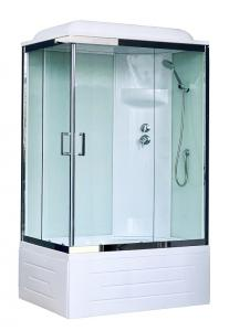 Душевая кабина Royal Bath RB8120BP6-WT-CH-R 120х80 правая