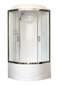 Душевая кабина Royal Bath RB90BK1-M-CH 90х90 рифленое матовое стекло