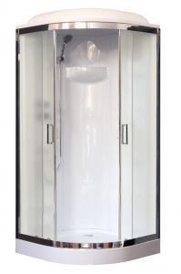 Душевая кабина Royal Bath RB90HK1-M-CH 90х90 рифленое матовое стекло