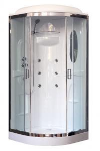 Душевая кабина Royal Bath RB90HK2-T-CH 90х90 с гидромассажем