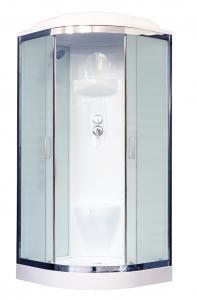 Душевая кабина Royal Bath RB90HK6-WC-CH 90х90 рифленое матовое стекло
