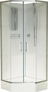 Душевая кабина RGW Andaman AN-057 90х90 профиль хром блестящий
