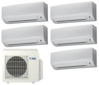 Мульти сплит система на 5 комнат Daikin 5 MXS90E / FTXB25B1V1 5 шт