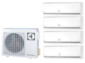 Мульти сплит система на 4 комнаты Electrolux EACO/I-28 FMI-4/N3_ERP / EACS/I-07HM FMI/N3_ERP 4 шт.