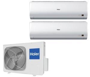 Мульти сплит система Haier на 2 комнаты 2U18FS2ERA (S) / AS09BS4HRA
